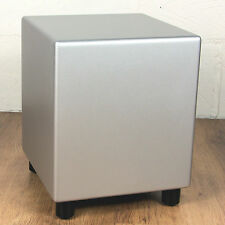BK Electronics XLS200-DF MK2 Powered Subwoofer. Silver