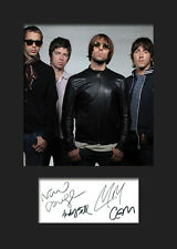 OASIS #1 Signed Photo Print A5 Mounted Photo Print - FREE DELIVERY
