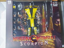(In stock)  Storm Collectables Mortal Kombat SCORPION 1/12 action figure