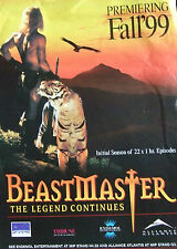 Original trade magazine advert BEASTMASTER The Legend Continues(1999) TV series