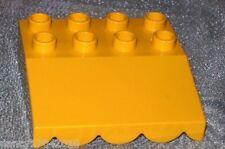 Lego Duplo Bau Platte Dach Vordach Markise aus 5635 3596 Bob der Baumeister gelb