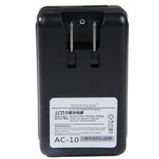 LCD USB Universal Wall Battery Dock Charger for Samsung Galaxy Note 3 S4 Camera