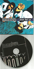 Marques Houston IMMATURE Please don't go w/ we got it FLAVA REMIX CD single IMX
