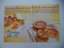 advertising Pubblicità 1988 CROSTATINE MULINO BIANCO