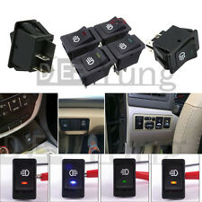 4-Pins LED Indicator Rocker Switch For Driving Fog Lamp Work Light bar Dashboard
