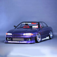 Pandora RC Cars ISSAN SKYLINE R32 4 Door 1:10 Drift 198mm Clear Body #PAB-134