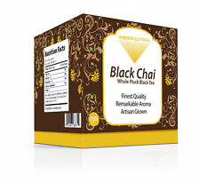 Absonutrix Best Aromatic Black Chai Whole Pluck Full Leaf Tea Finest Quality!