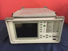 HP Hewlett Packard 37717C Communications Performance Analyzer w/ Options