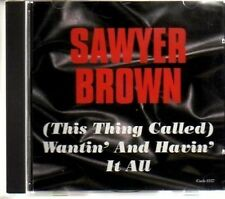 (AM95) Sawyer Brown, (This Thing Called) Want..- DJ CD