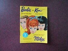 SMALL 1962 FASHION CATALOG FOR BARBIE, KEN AND MIDGE