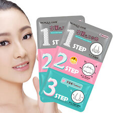 1Pc Useful Pig Nose Pore Clear Black head Remover 3-STEP KIT Strip Mask Peel