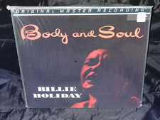 Billy Holiday Body And Soul SEALED USA MFSL 1995 MONO 200 GRAM LP #1571
