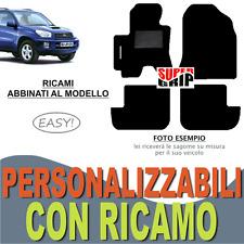 TAPPETI AUTO SU MISURA PER TOYOTA RAV4 (2) MOQUETTE FONDO GOMMA + RICAMO EASY