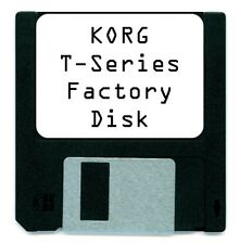 KORG T1 T2 T3 FACTORY SOUND CARD DISK T 1 2 3 T-SERIES + EX
