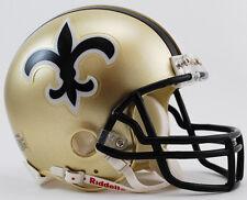 NEW ORLEANS SAINTS 1976-1999 Riddell ProLine VSR-4 Mini Football Helmet NFL