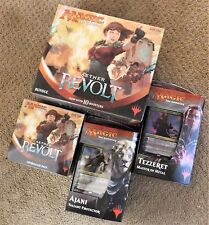 MAGIC AETHER REVOLT BUNDLE FAT PACK & PRERELEASE KIT & PLANESWALKER DECK SET