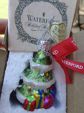 Waterford Holiday Heirlooms Decorated Christmas Tree Ornament In Box