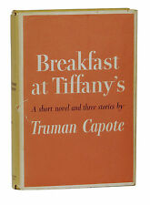Breakfast at Tiffany's ~ TRUMAN CAPOTE ~ First Edition ~ 1st Printing ~ 1958