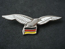 Croatia army, Airforce badge with German flag, wings; military