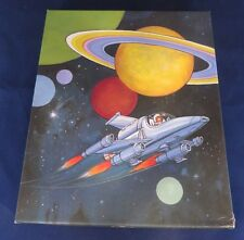 Vintage Hallmark Stationery - Astronaut Space Planets - 15 Envelopes 30 Sheets