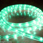 GREEN LED ROPE LIGHT OUTDOOR LIGHTS CHASING STATIC CHRISTMAS XMAS GARDENS HOMES