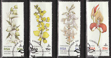 SOUTH AFRICA 1981 10th WORLD ORCHID CONF DURBAN COMPLETE SET USED BoB382