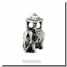 Authentic Trollbeads Sterling Silver 11505 Indian Elephant :1 RETIRED 27% OFF
