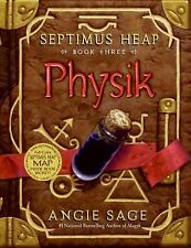 "SAGE ""SEPTIMUS HEAP: BOOK THREE: PHYSIK"" 2007 1ST ED HC/DJ NF/VG+ ILLUSTRATED"