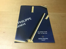 Booklet PATEK PHILIPPE New Model 2005 - Ellipse d'Or Ref. 3738/100 All Languages