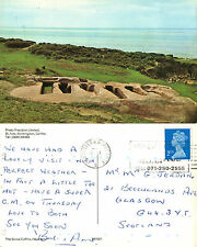 1990's THE STONE COFFINS HEYSHAM LANCASHIRE COLOUR POSTCARD