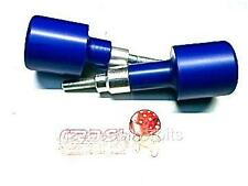 YAMAHA R6 CRASH MUSHROOMS PROTECTORS 2006 -2016 BLUE SLIDERS BOBBINS BUNGS  R6C6