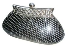 Bling Diamond Crystal Diamante Evening bag Clutch Purse Bride Wedding Party Prom