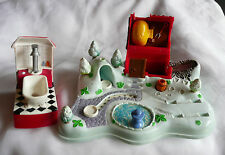Polly Pocket Mini 101 Dalmatiner  Set mit 2 Hunden Walt Disney
