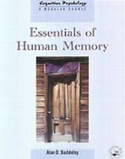 The Resource Library: Essentials of Human Memory (Cognitive Psychology, 1368-455