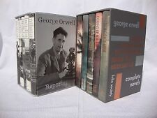 Folio Society-The Complete Novels Of George Orwell (5vol) AND Reportage(5vol)