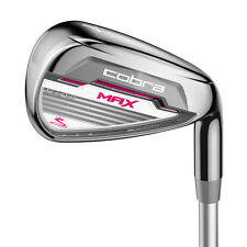 NEW 2016 Cobra Max Women's Iron Set - Right Hand - 5-SW - Graphite Ladies Flex