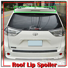 UNPAINTED REAR K-TYPE ROOF LIP SPOILER WING FOR 11-16 TOYOTA SIENNA LE SE XL30