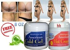 Tummy Belly Slimming Weight Loss Fitness Fat Burner Reducer Hot & Cold Cream Gel