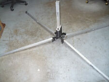 """Windmaster System 3 D-93 Springload Sign Stand, 2'-2"""" Ground To Sign, Used"""