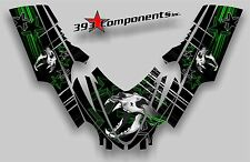 Arctic Cat M7 M8 M1000 Crossfire 2005 - 2011 Graphic Decal Sticker kit Skull Cat