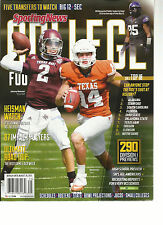 SPORTING NEWS, COLLEGE FOOTBALL PREVIEW, 2013 ( FIVE TRANSFERS TO WATCH BIG 12