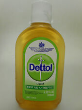 Dettol Liquid 125ml/4.22oz First Aid Antiseptic Tattoo (Made in UK) USA SELLER