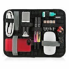 "Elasticity Grid It Gadget Organizer With Wrap Case For 10"" Tablet"