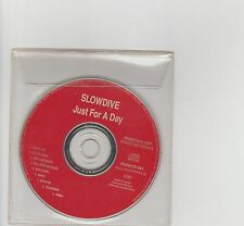 Slowdive-Just For a Day UK promo cd album