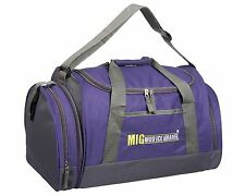 Ladies & Girls Sports & Gym Holdall Bag - SPORTS TRAVEL WORK SCHOOL - PURPLE 07M