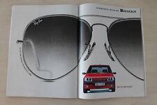 Peugeot 205 1.9 GTI + Ray-Ban - Anzeige/Werbung