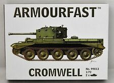 Armourfast Model Kit  No.99013 Cromwell Tank  2 kits in box 1/72 Scale