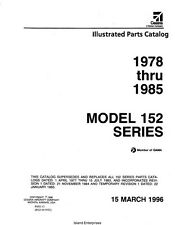1978 -1985 Cessna Model 152 Series Illustrated Parts Catalog Manual Revise 1996
