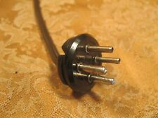 Amphenol 4 Pin Connector for Rogers, Hammond, Allen Organ Speakers