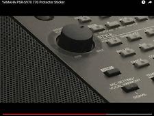 Für YAMAHA PSR-S770 Keyboard Schutz-Sticker für das Volumenrad